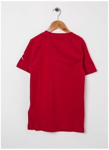 Nike Nike Jordan Baskılı Pamuklu Tişört Kırmızı